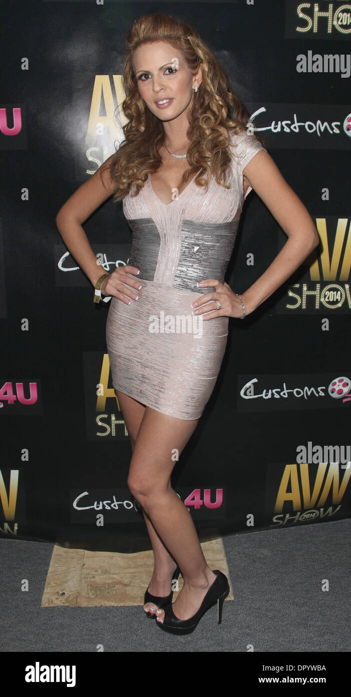 Adult Film Actress Shy Love Attends The Avn Adult Entertainment Expo 2014 At The Hard Rock Hotel And Casino On January 16