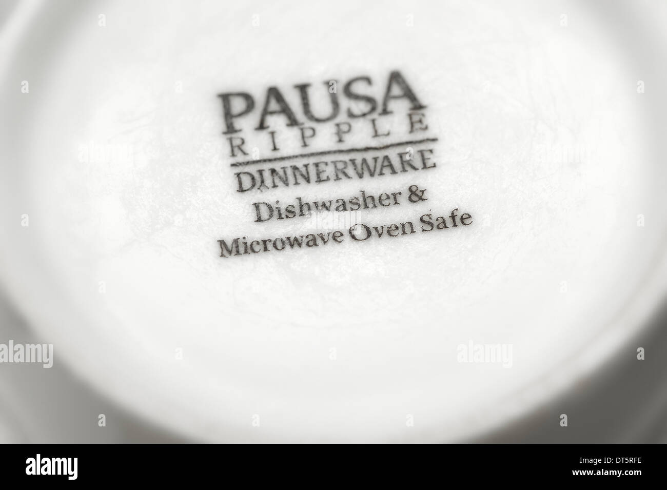 https www alamy com pausa ripple dinnerware dishwasher and microwave oven safe image66511074 html