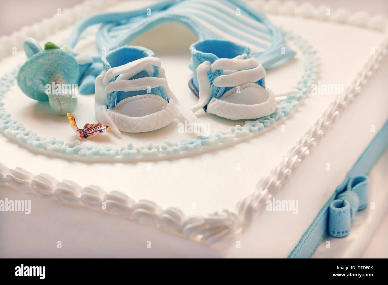 Blue And White Birthday Cake The Best Cake Of 2018