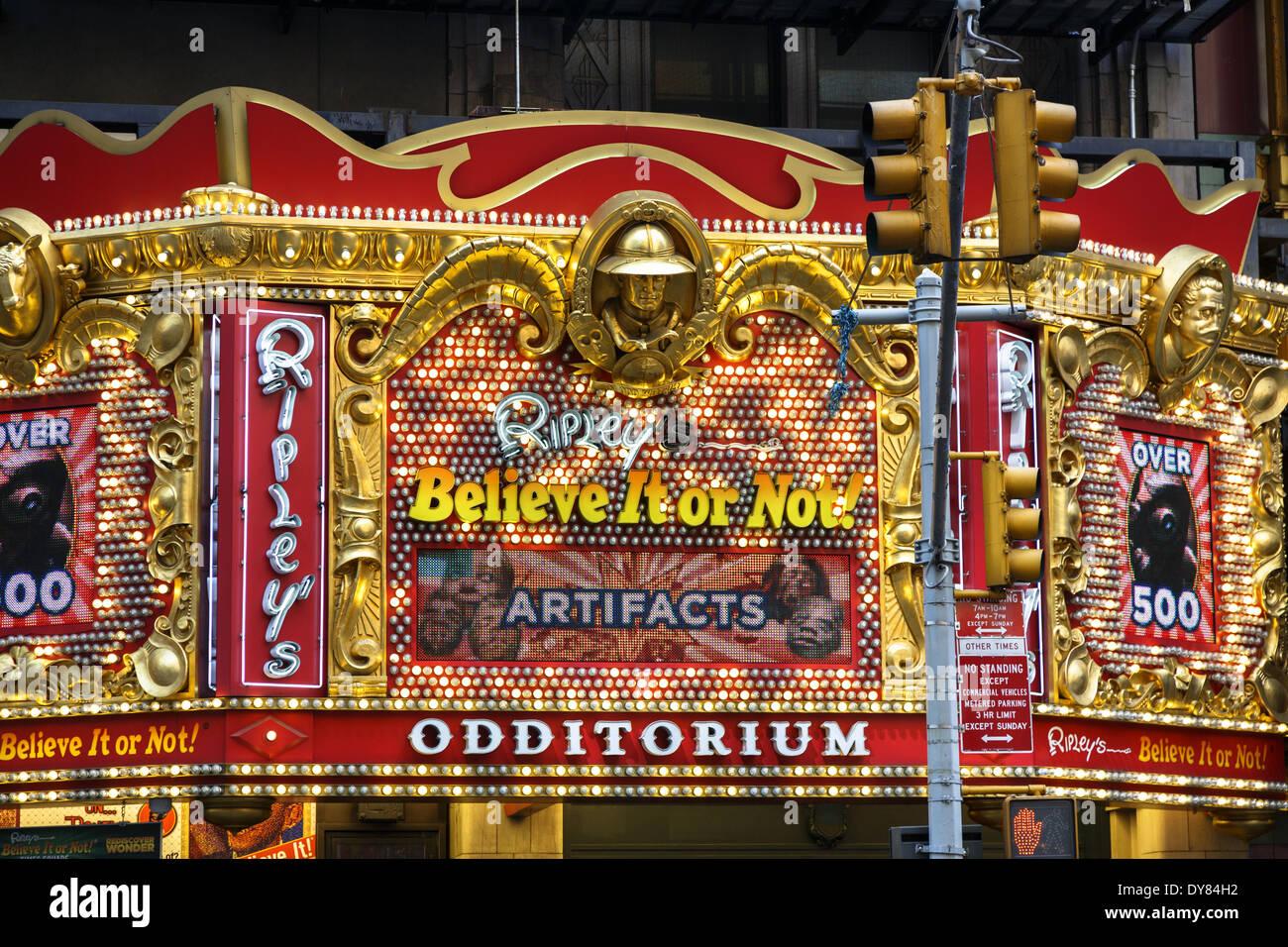 Ripley S Believe It Or Not Odditorium West 42nd Street