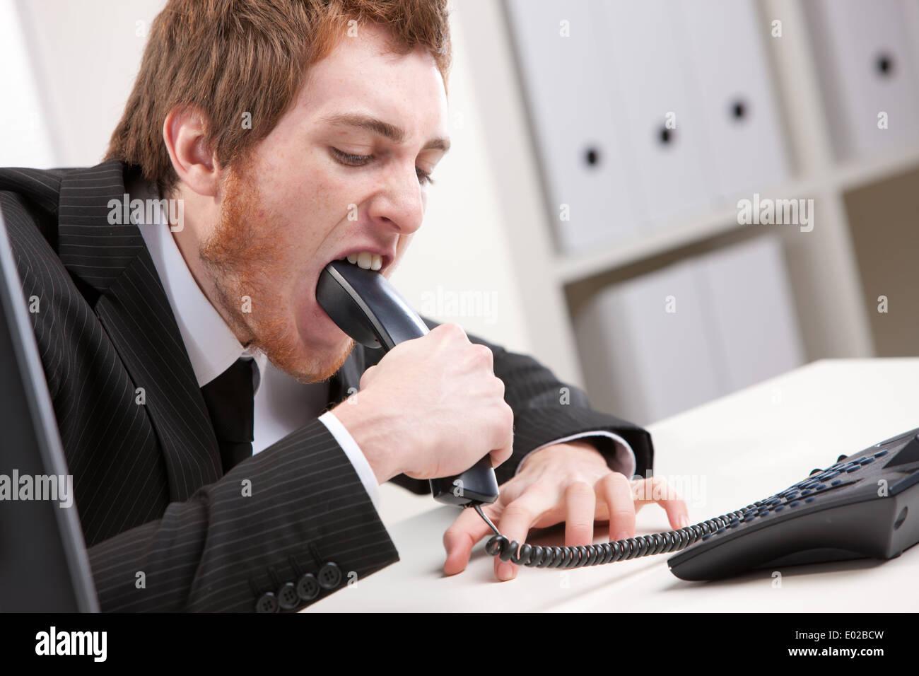 Business Man Suit Office