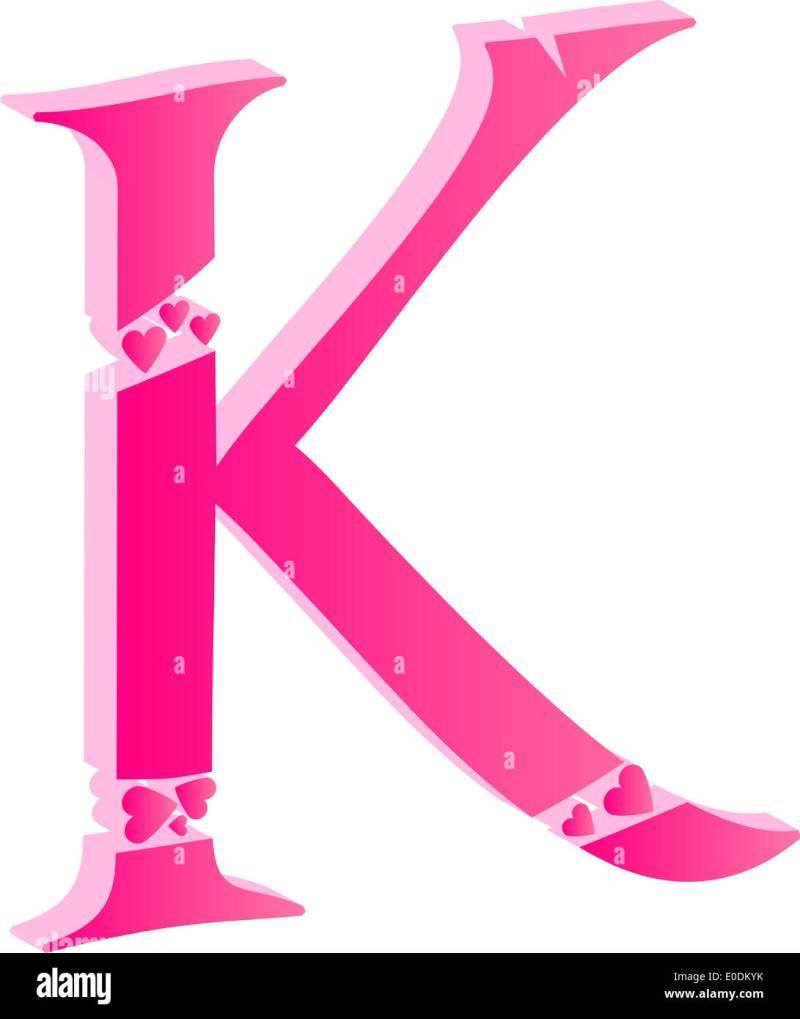 alphabet letter k | Cekharga.blog