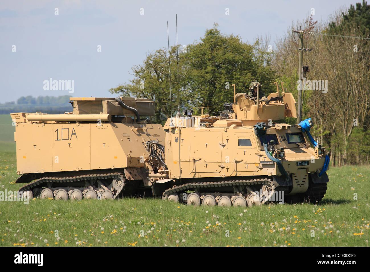 British Army Viking BVS10 Protected All Terrain Vehicle