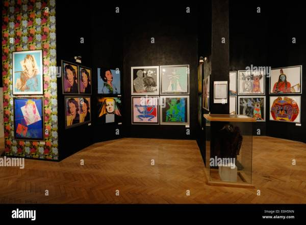 Exhibits at Andy Warhol Museum of Modern Art, Medzilaborce ...