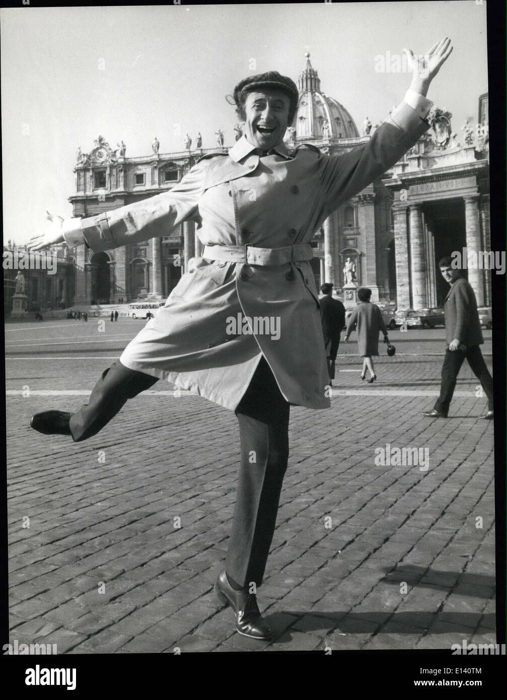 https www alamy com mar 31 2012 rome famous french mimo marcel marceau seen at st peter image69544628 html