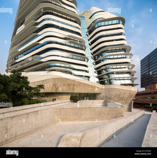 Jockey Club Innovation Tower, Hong Kong, China. Architect ...