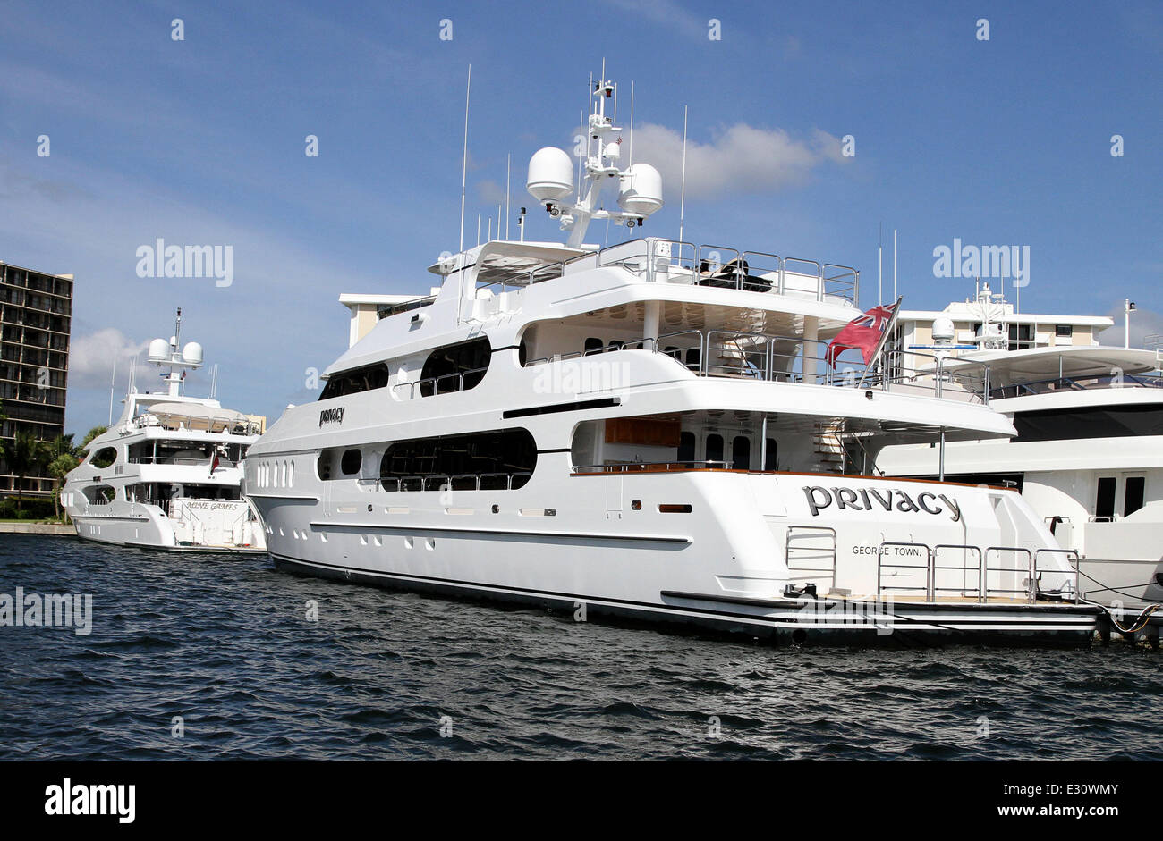 The Super Yacht Mine Games Owned By Chris Cline Top Is