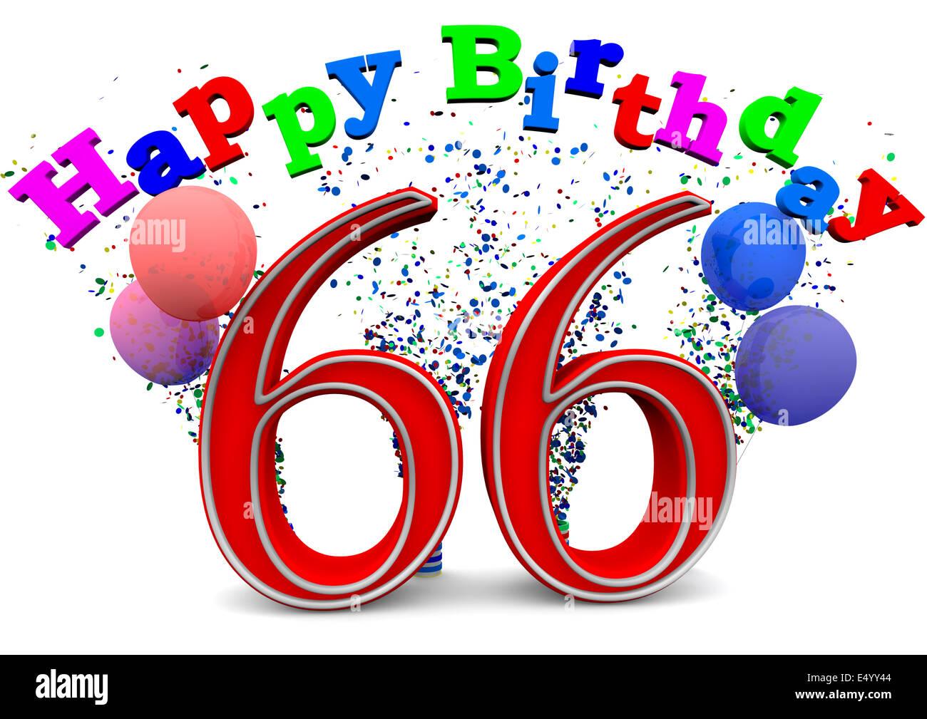66 Jahre Geburtstag Stock Photos Amp 66 Jahre Geburtstag