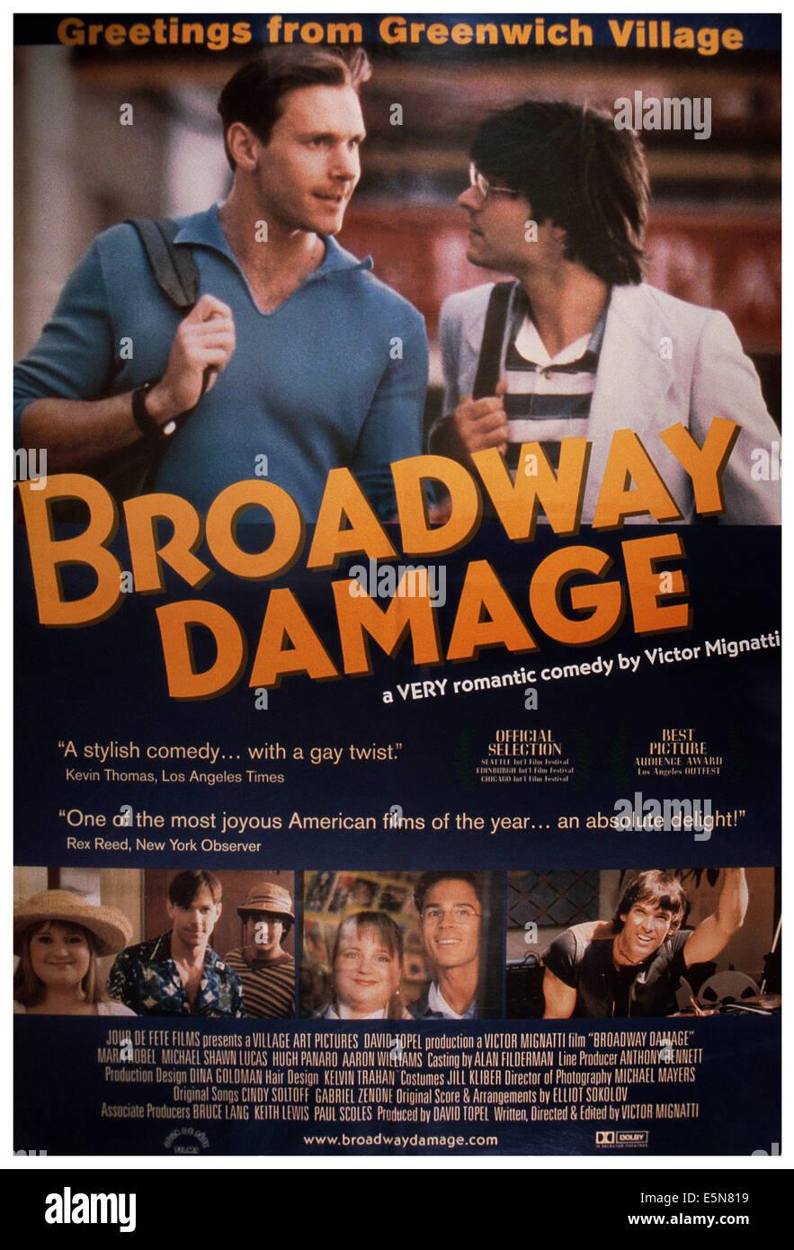 Poster do filme Broadway Damage