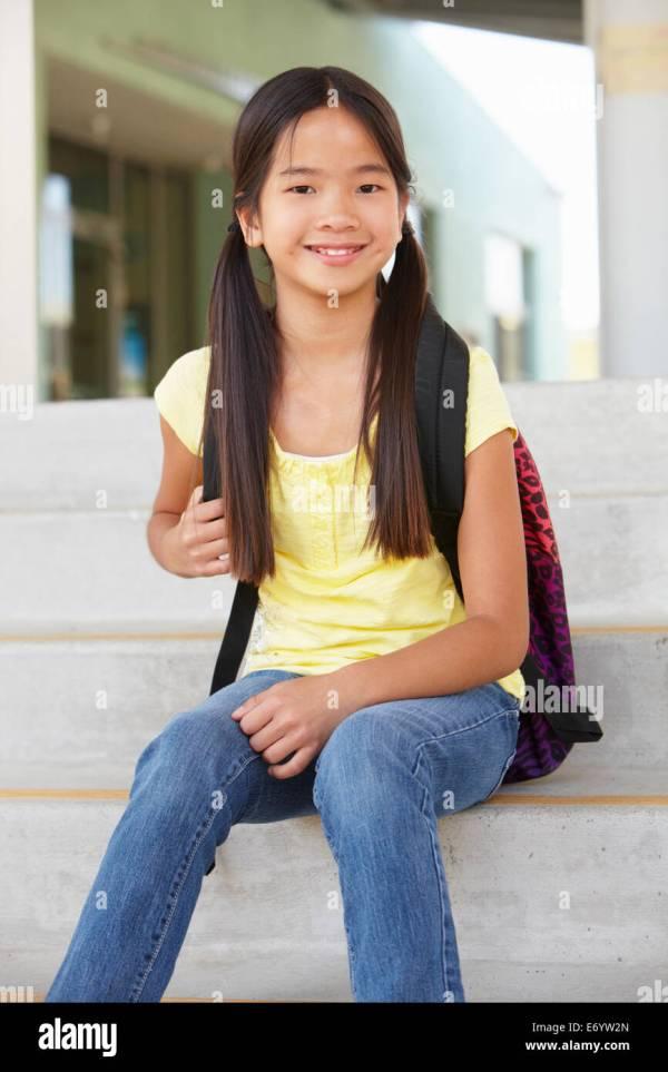 School Pre Teen Asian High Resolution Stock Photography ...