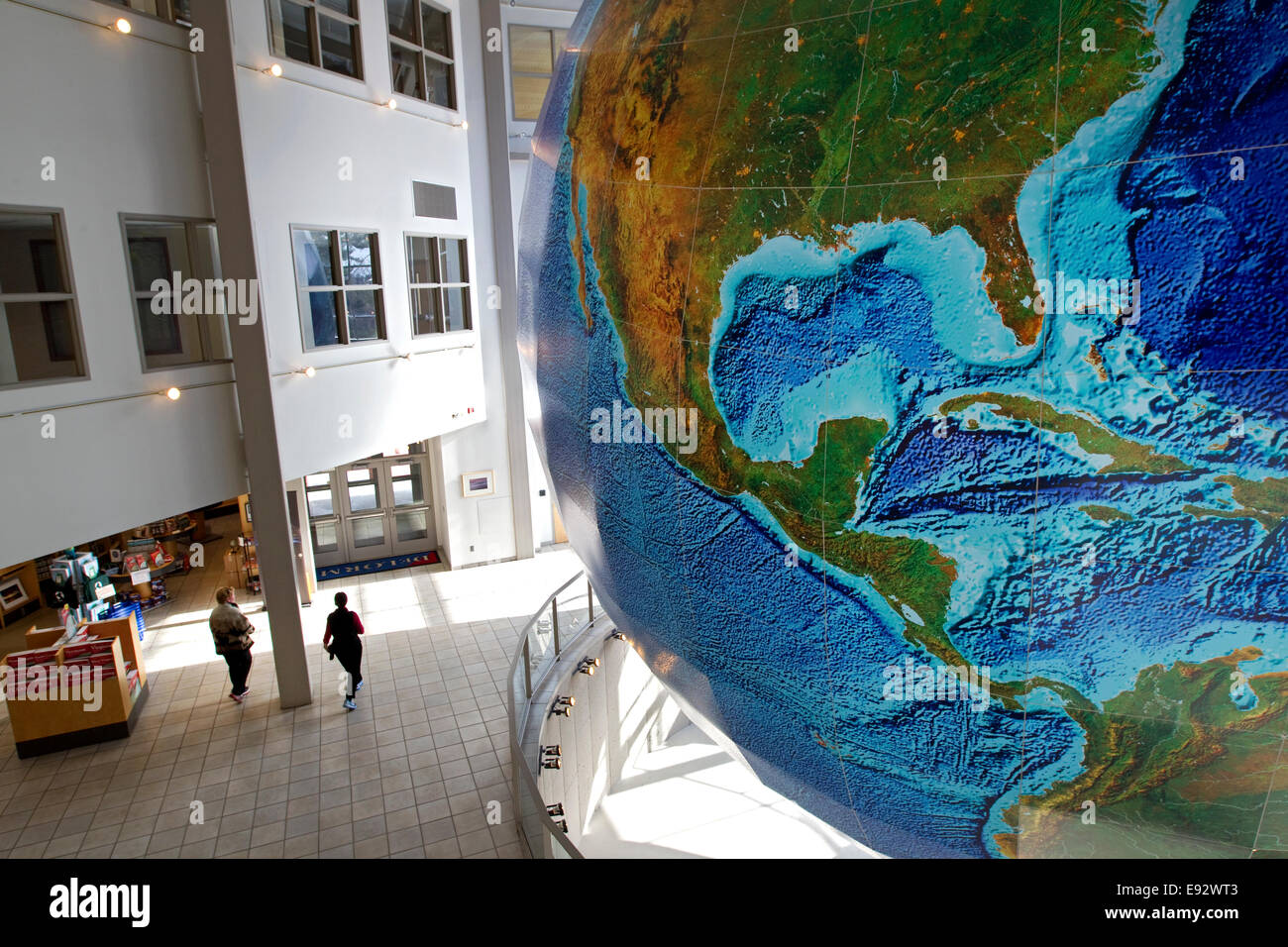 Globe  Eartha  world s largest revolving and rotating globe  DeLorme     Globe  Eartha  world s largest revolving and rotating globe  DeLorme Map  Store  Yarmouth  Maine