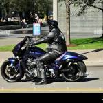 Large Man On Motorcycle High Resolution Stock Photography And Images Alamy