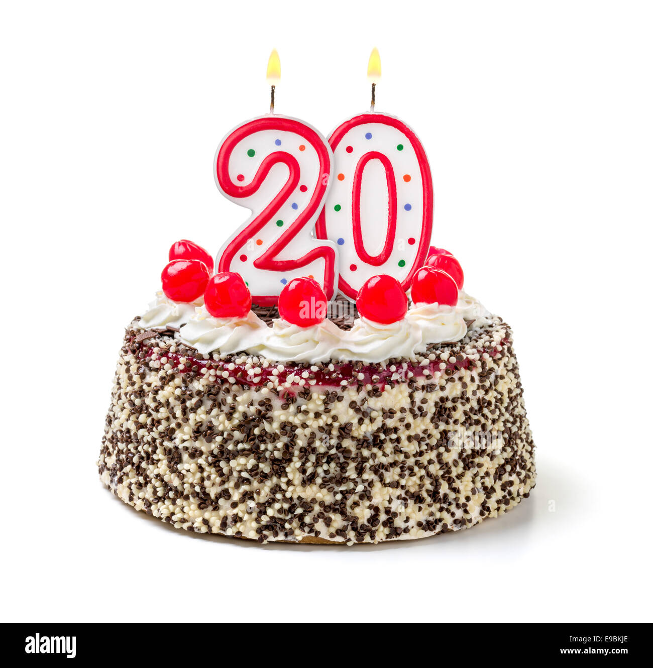 20th Birthday Cake Stock Photos Amp 20th Birthday Cake Stock
