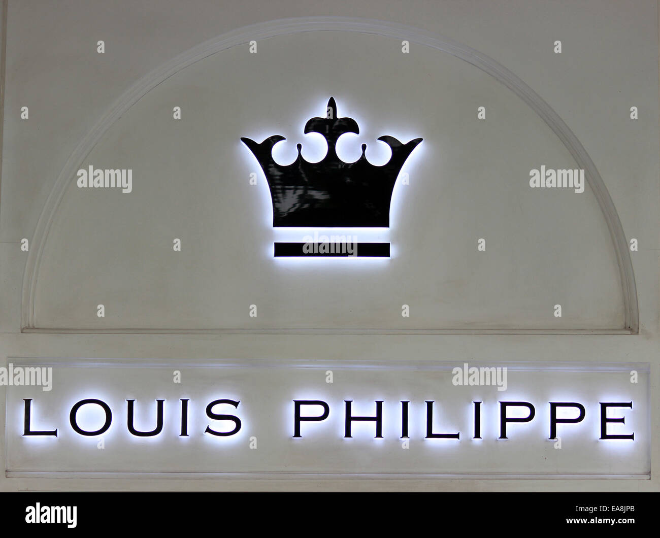https www alamy com stock photo clothes company logo louis philippe international brandconnaught place 75178387 html