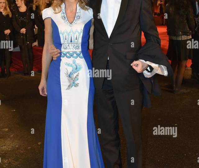 Berlin Germany Th Nov  Ndr Director Lutz Marmor And His Escort Arrive To The Bambi Awards At The Stage Theater On Potsdamer Platz In Berlin