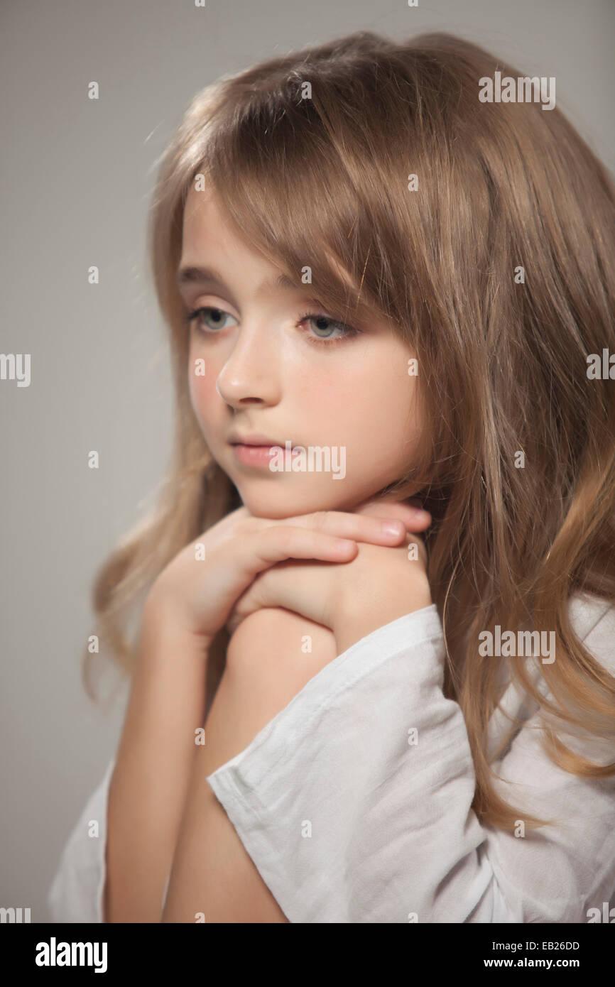 Portrait of beautiful teen girl Stock Photo - Alamy on Beautiful Teen Girl  id=92837