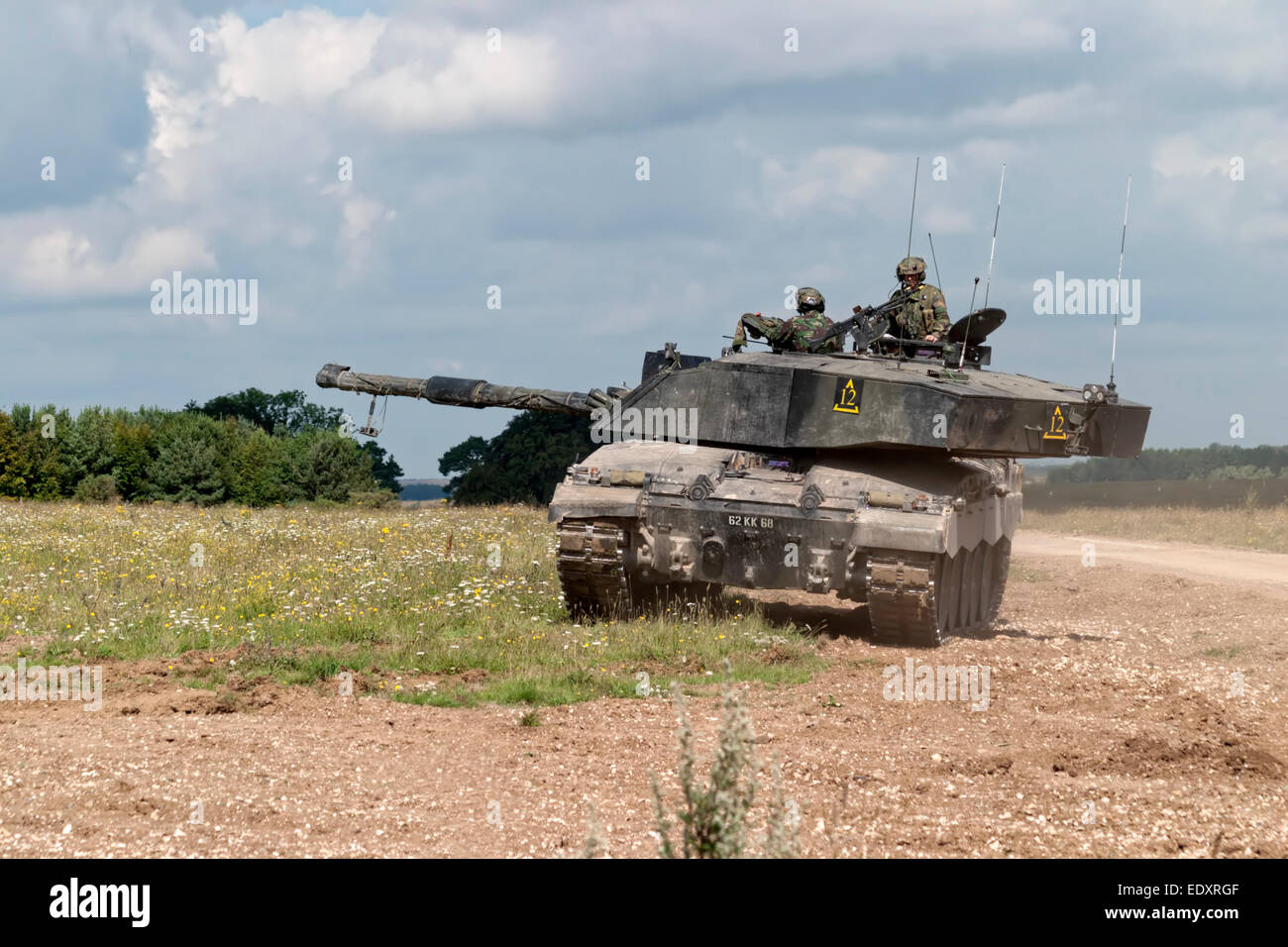 Challenger 2 Main Battle Tank MBT Of The British Army On