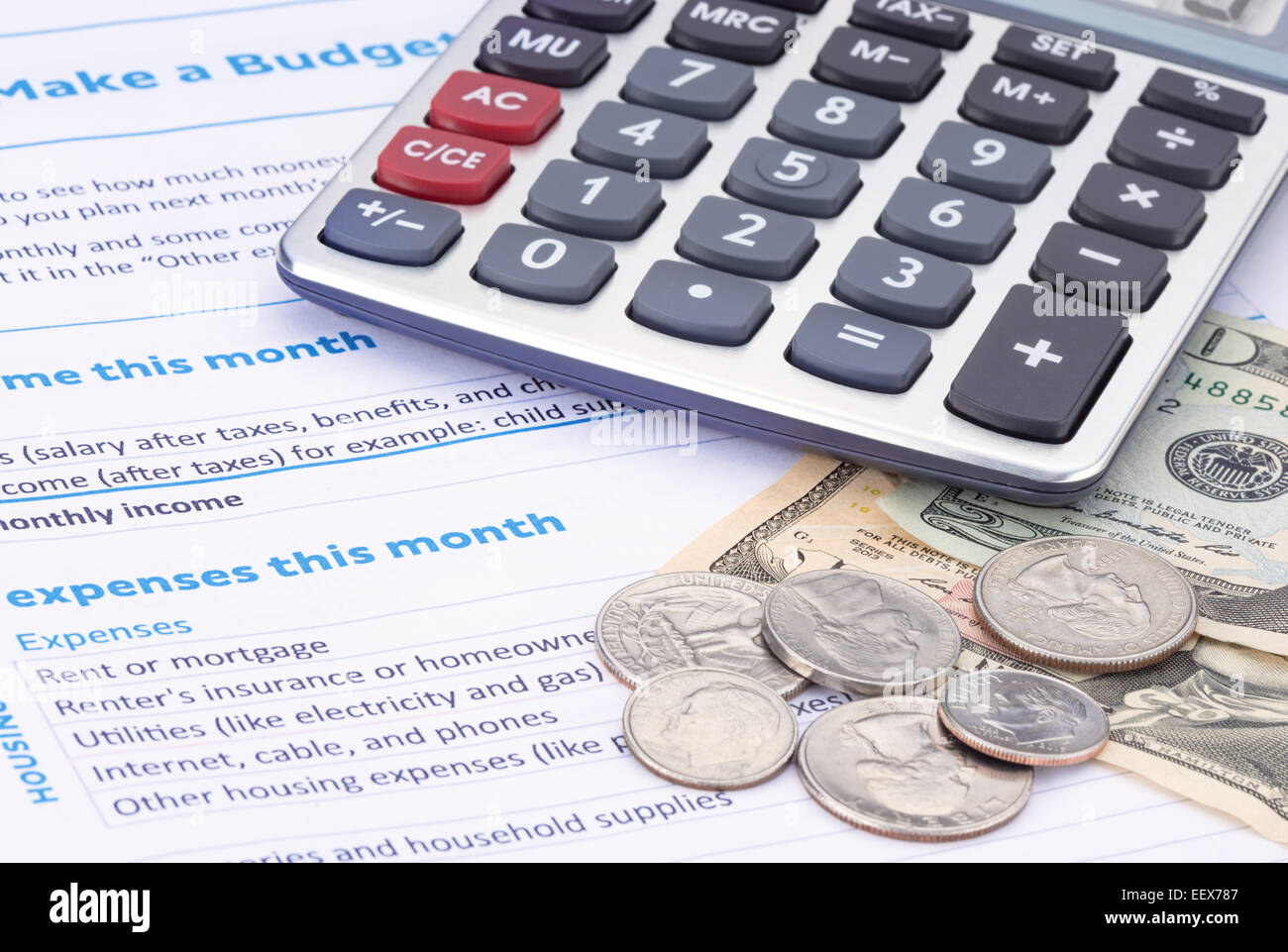 Budget Household Stock Photos Amp Budget Household Stock Images