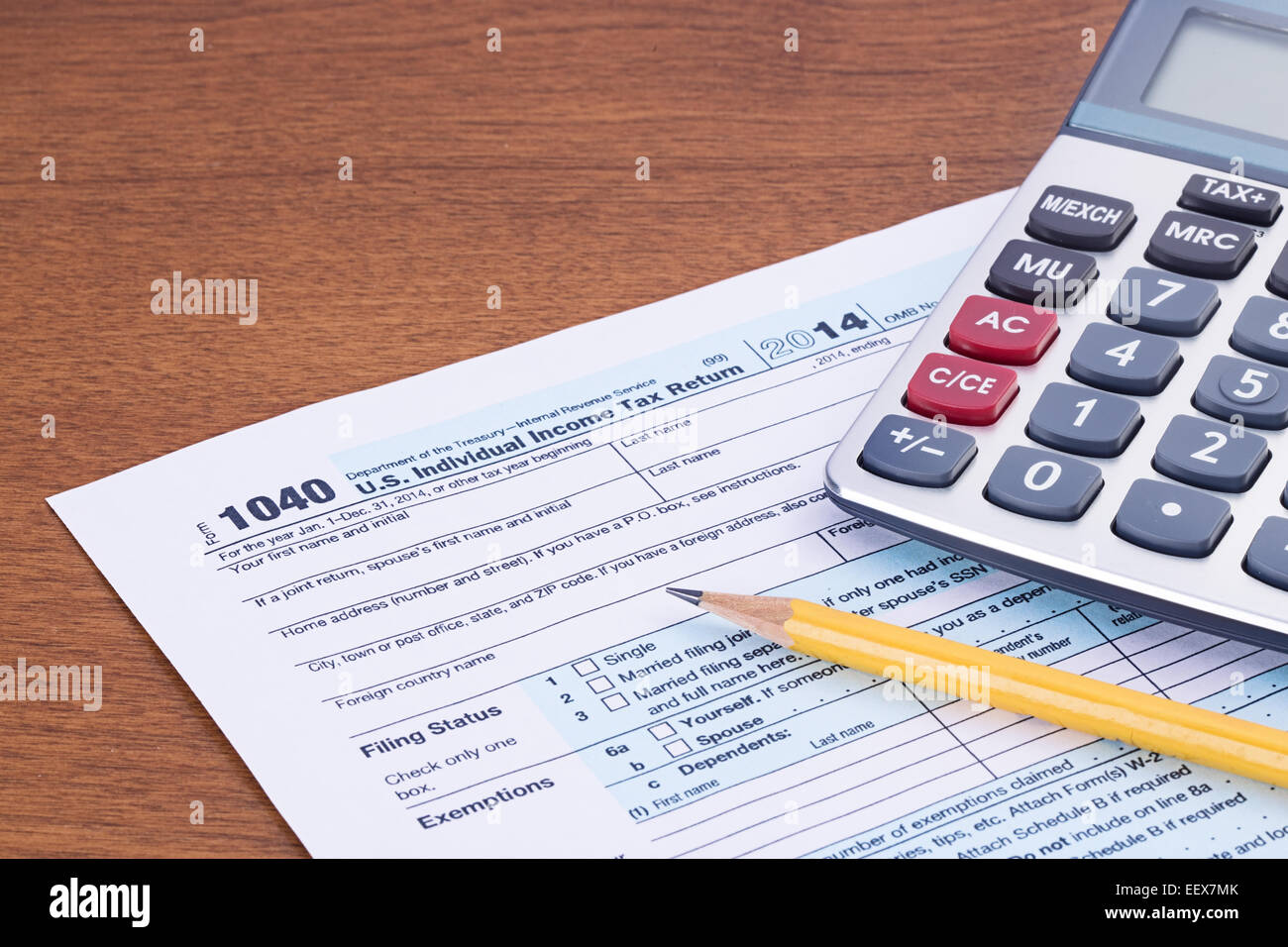 Income Tax Form Stock Photos Amp Income Tax Form Stock Images