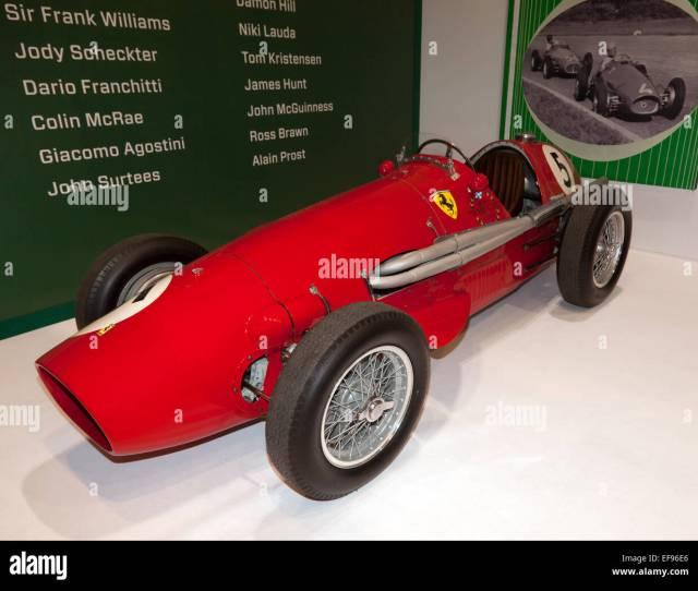 Enzo Ferraris  Driven By Alberto Ascari To Win The F Championship For Ferrari