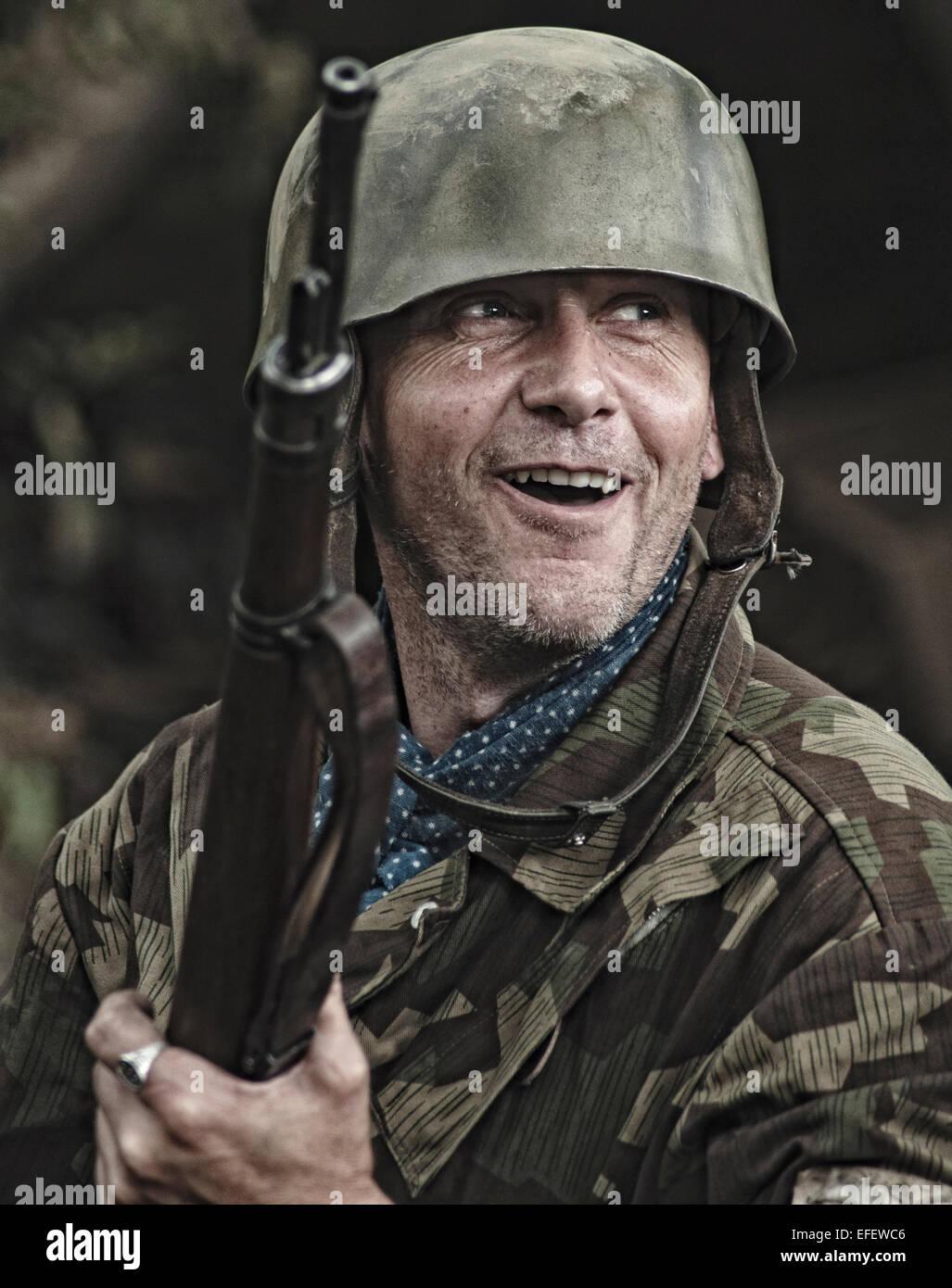 World War 2 German Sol R Stock Photo