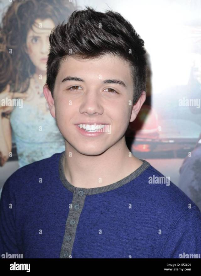 bradley steven perry at arrivals for bad hair day premiere