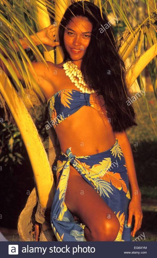 Polynesian Woman Stock Photos & Polynesian Woman Stock ...