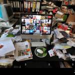 Ordnung Im Buro Disordered Office Stock Photo Alamy