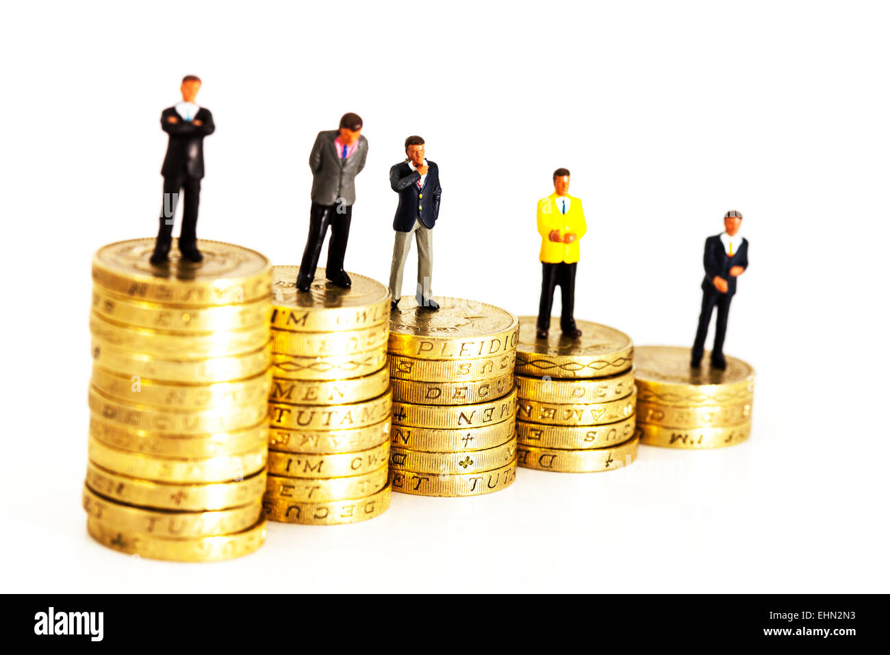 Wealth Scale Of Pay Salary Wages Income In Business