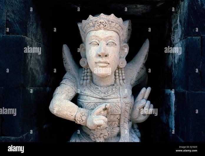 Oriental Sculpture In Bali In Indonesia In Southeast Asia Hindu Stock Photo Alamy