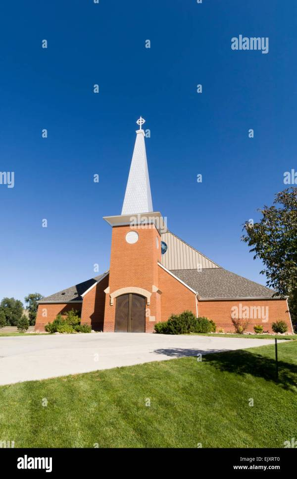 New Holy Rosary Church, Red Cloud Indian School, Pine ...