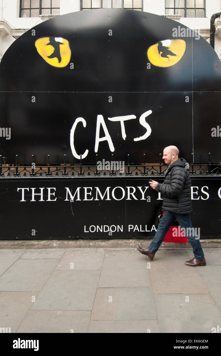 https www alamy com stock photo sign for cats the musical outside the london palladium theatre 80664604 html