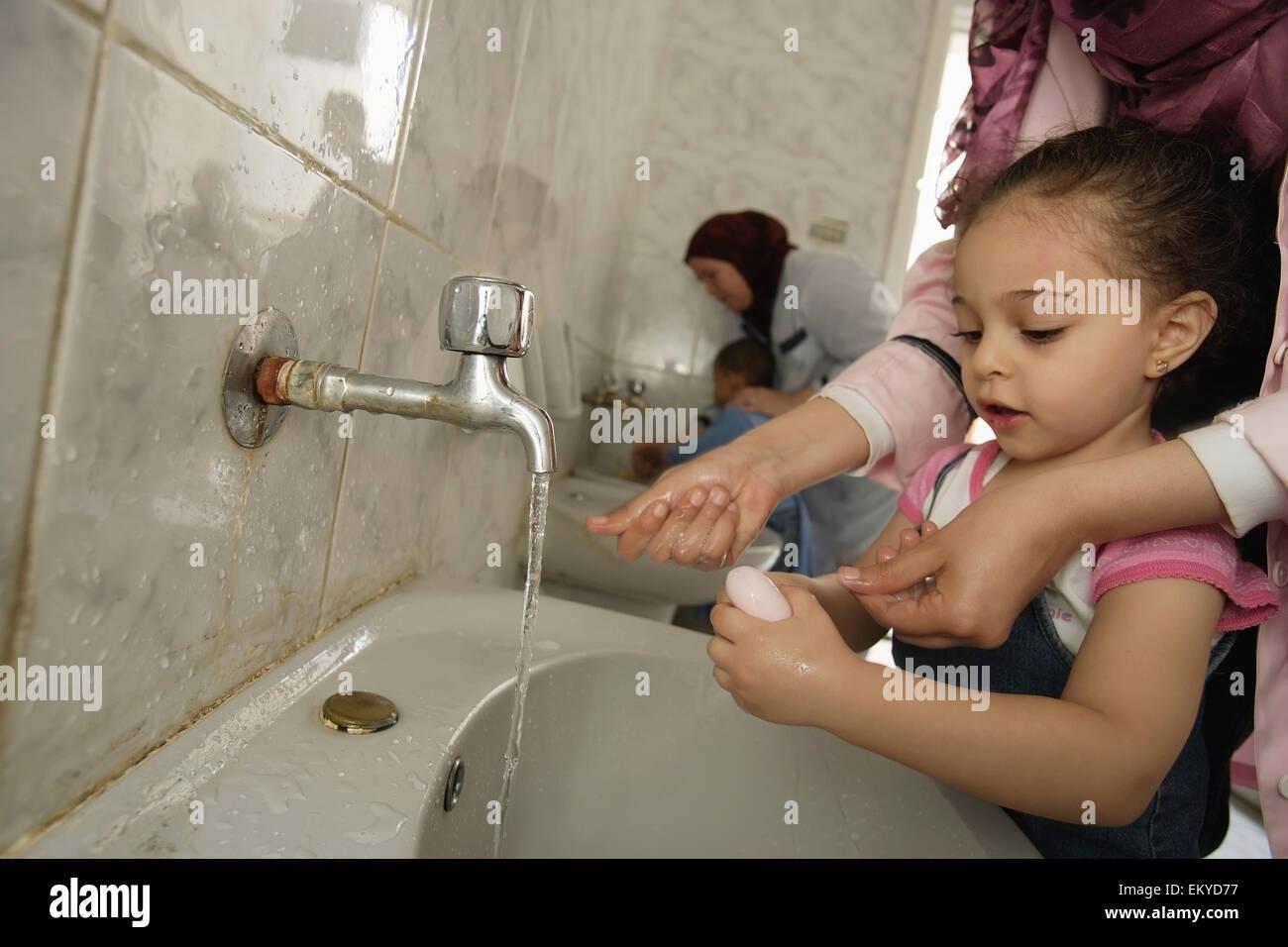 Washing Hands School Stock Photos Amp Washing Hands School