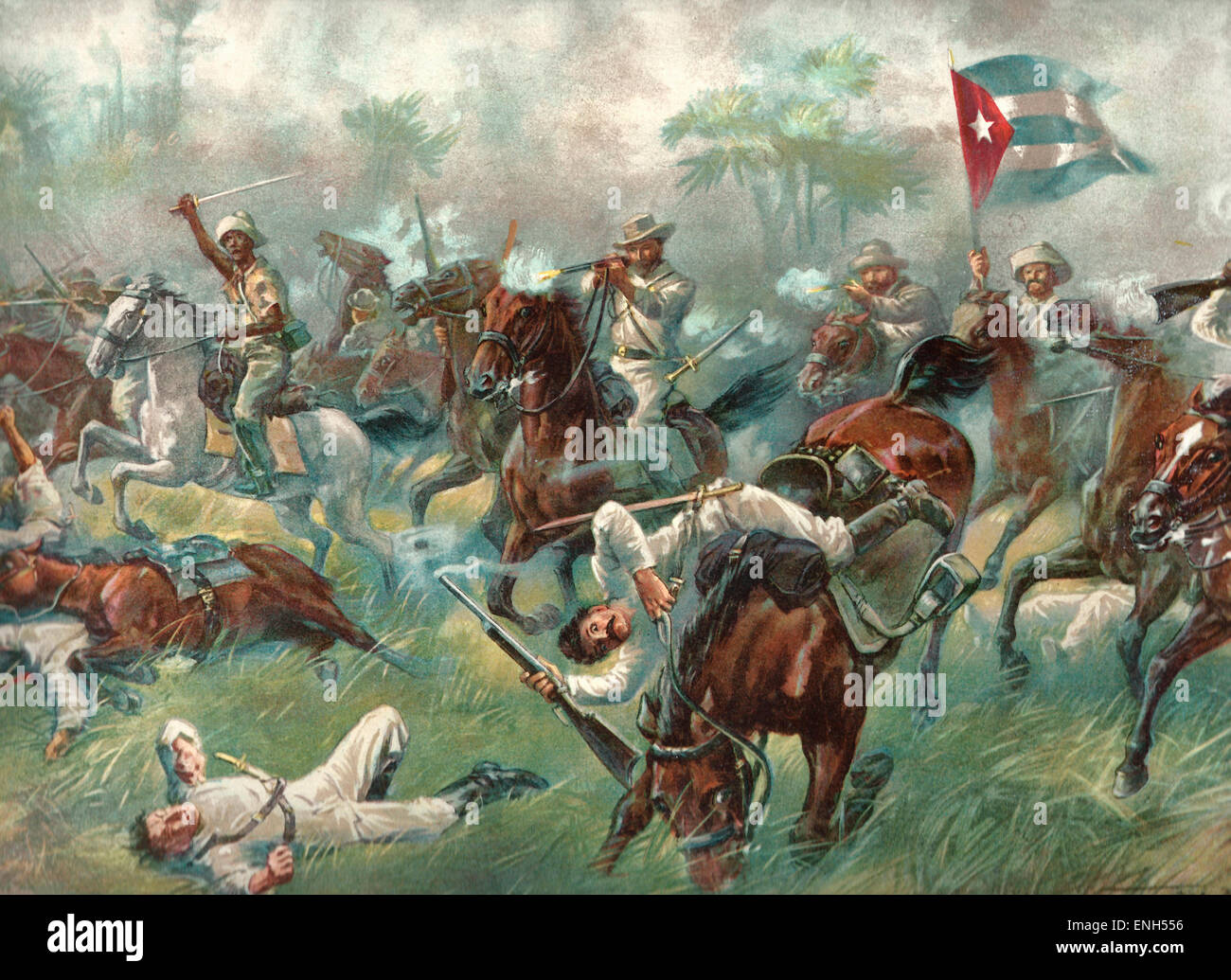 The Battle Of Desmayo During The Spanish American War