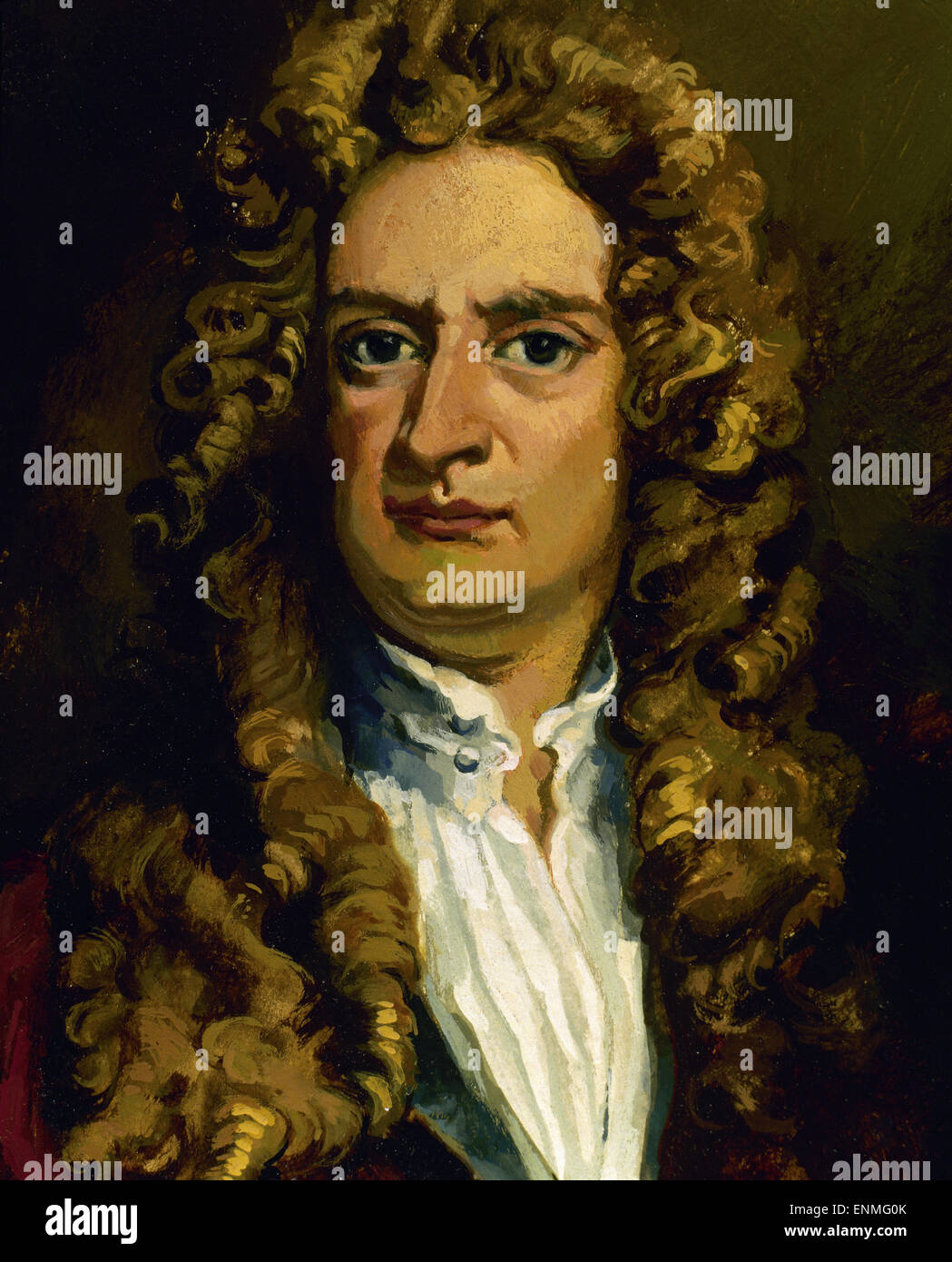 Isaac Newton English Physicist And