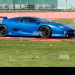 Jaguar Xj220 Race Car Prepared By Don Law Going Through Its Paces Stock Photo Alamy