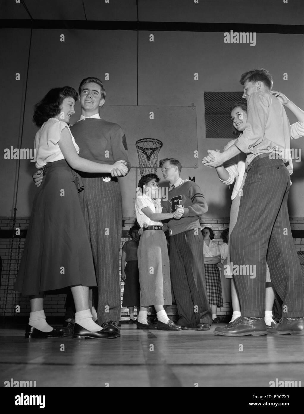 School Fashion S Boys 1950 High