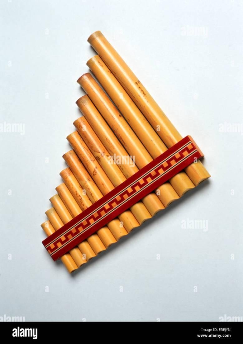 pan pipes, latin america stock photo: 83300777 - alamy