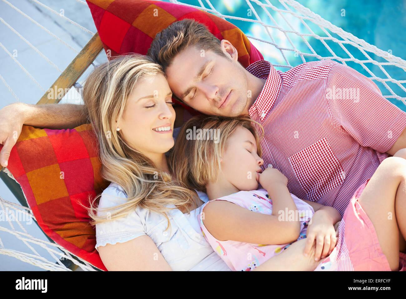 Mother Child Sleeping Hammock Stock Photos Amp Mother Child