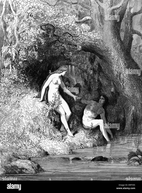 Paradise Lost Adam And Eve Stock Photos & Paradise Lost ...