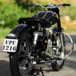Royal Enfield Bullet G2 350 Cc 1960 Vintage Motorcycle Stock Photo Alamy