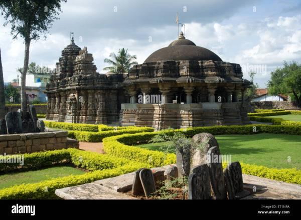Shivalaya temple ; Arsikere ; Hassan ; Karnataka ; India ...