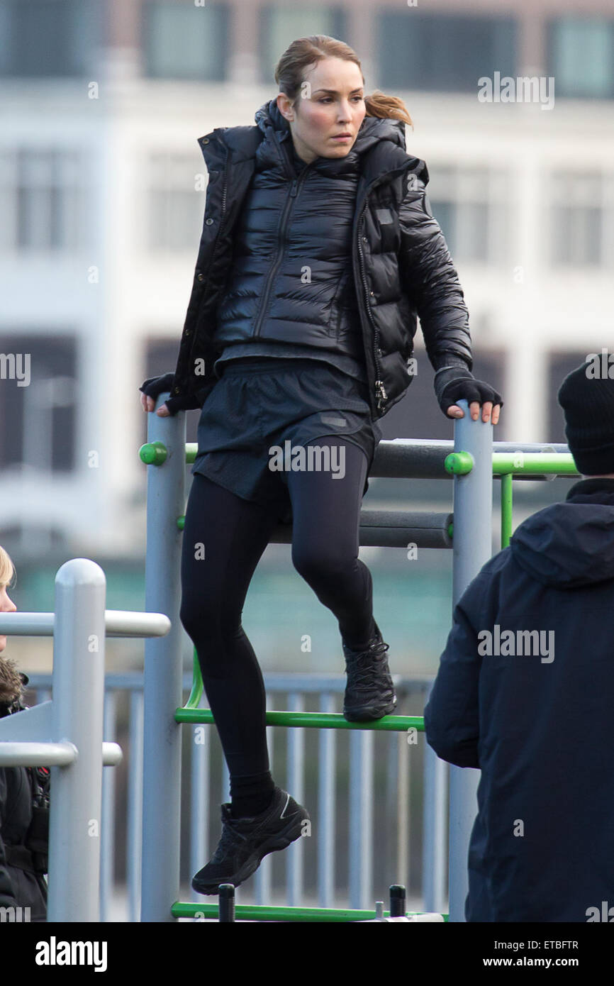 Noomi Rapace Films Scenes For Unlocked Featuring Noomi
