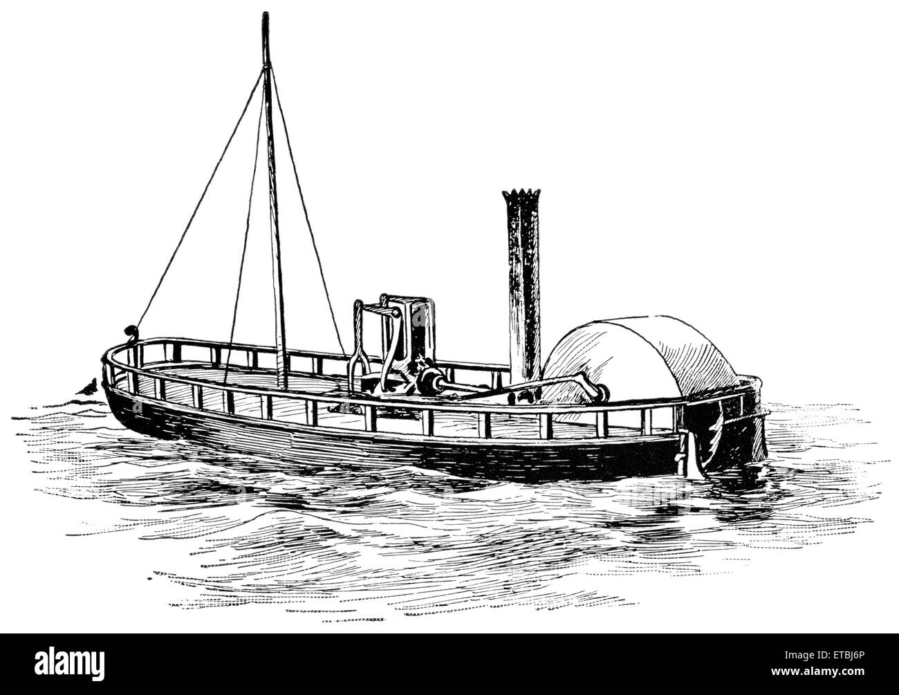The First Steam Boat