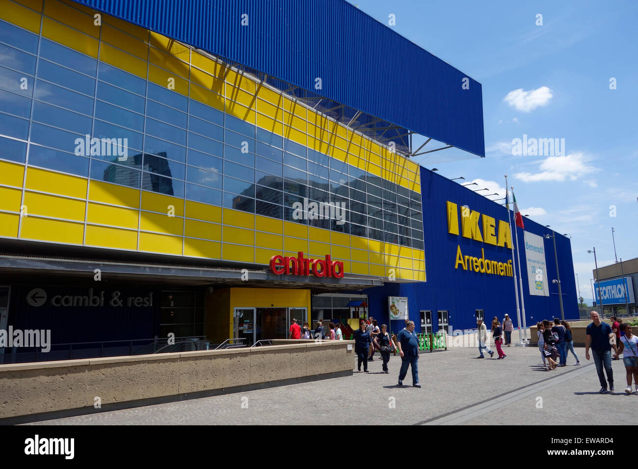 Ikea Store At Porta Di Roma Rome Italy Stock Photo 84445792