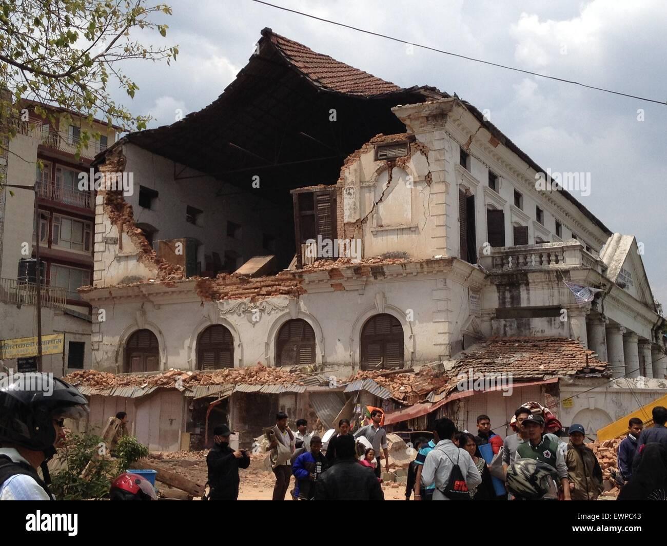 Kathmandu Durbar High School Collapsed After The