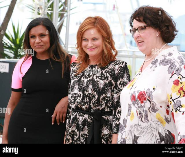 Actress Mindy Kaling Amy Poehler And Phyllis Smith At The Inside Out Film Photo Call