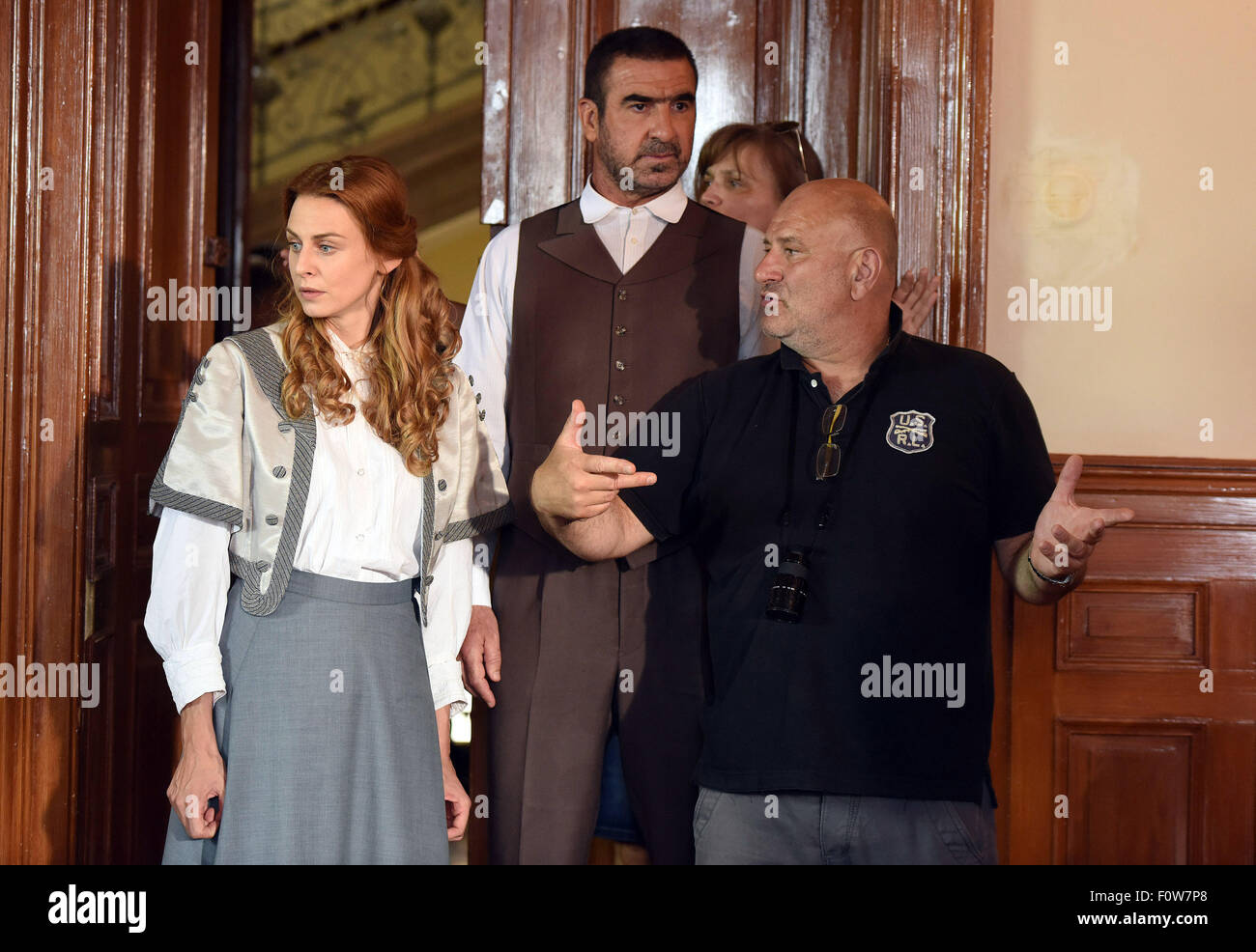 But what else do we know about his actress wife. Manchester United Legend Eric Cantona Films A Court Room Scene For The Upcoming Children S Movie Anka