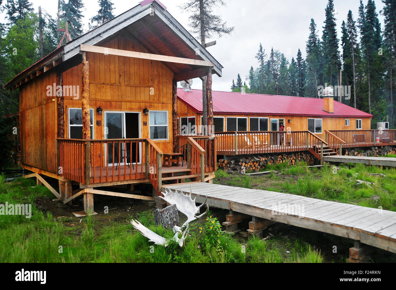 Alaska Aniak Fishing Lodge