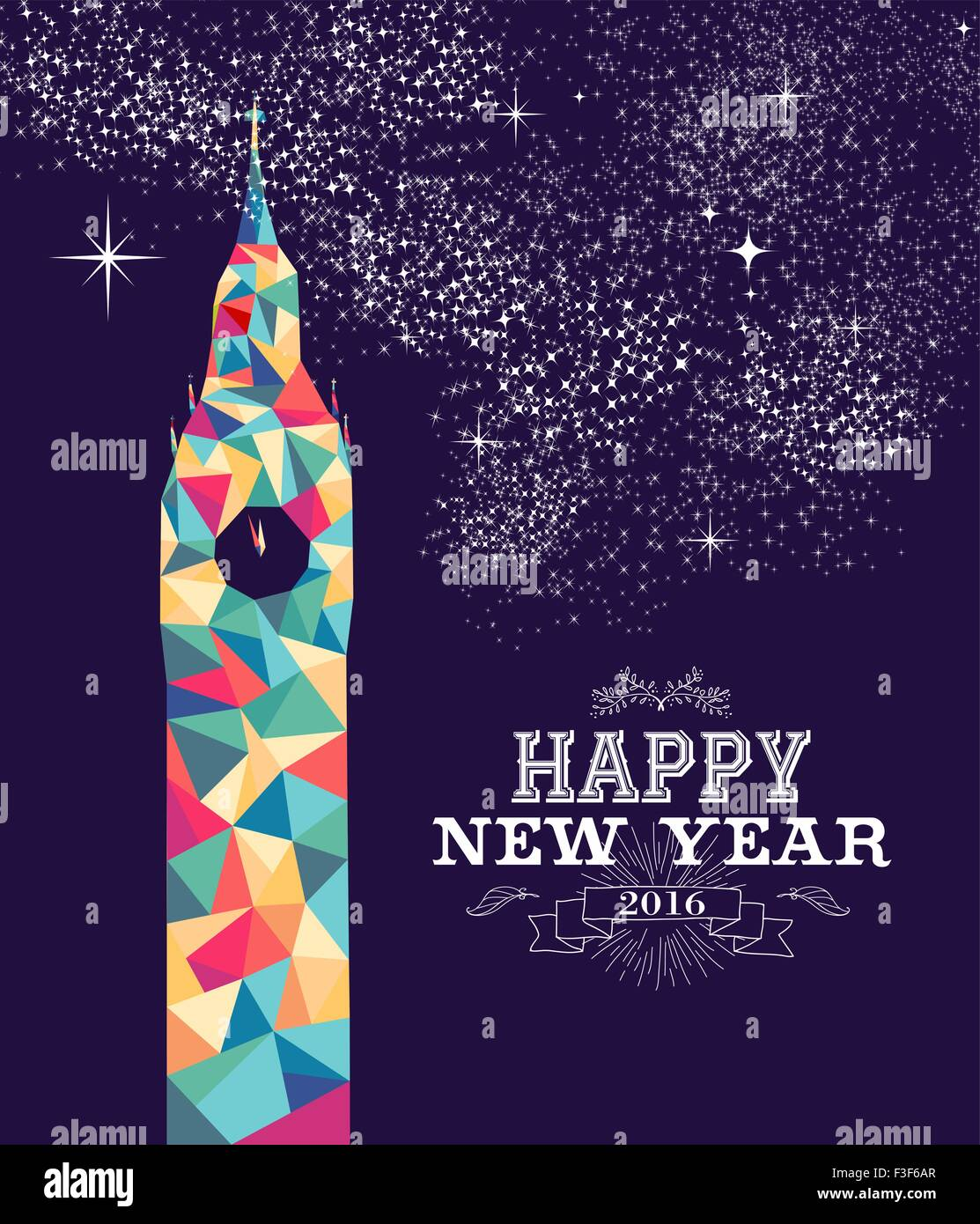 happy new year poster design